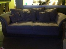 Two sofas color brown in Schaumburg, Illinois