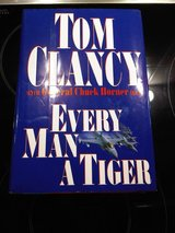 """AUTOGRAPHED """"Every Man a Tiger"""" in Stuttgart, GE"""