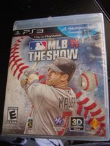 PS3 Playstation 3 MLB 11 The Show game NEW in Fort Riley, Kansas